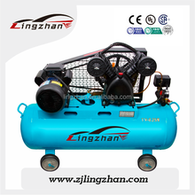 2.2KW 8bar oil less paper making industrial piston air compressor