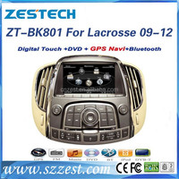 car radio with gps for BUICK LACROSSE 2009-2012 car navigation system with dvd radio cd mp3 function digital TV