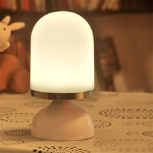 portable decorative battery operated led table lamps for Decoration