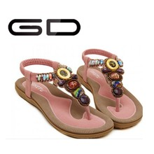 De China venta al por mayor sandalias de verano plana 2014 for mujeres