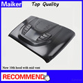 New 10th anniversary bonnet ,hood, engine cover for jeep wrangler jk vented hood