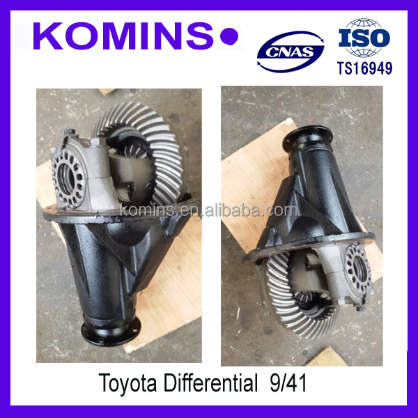 Differential for toyota 9/41 8/39 10/41 11/43 12/43