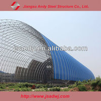 Large Span Steel Structure Space Frame Dome Storage Building