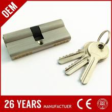 electronic lock computer controlled. silver or yellow color door lock hotel. waterproof dustproof ignition lock cylinder