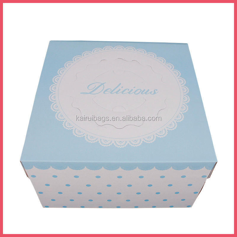 manufacture cheap customized paper cake boxes