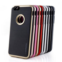 Newest design motomo phone case for iphone 5 SE shockproof hybrid brushed armor phone case for iPhone 5se