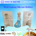 Liquid silicone rubber for crafts casting