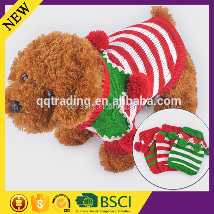 Autumn Knitted different style big size colorful manufacture pet dog sweater