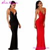 Fashion Sexy Deep V Neck Backless Lladies Night Latest Gown Designs