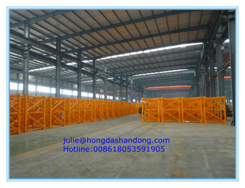 SHANDONG HONGDA Hydraulic Self-rising Tower Crane QTZ80A