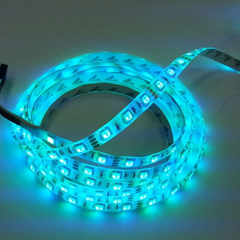 Hot Sale Cheap Waterproof IP65 SMD 5050 RGB 60 <strong>LEDs</strong> / Meter Flexible <strong>LED</strong> Strips For Indoor / Outdoor Decoration Lighting