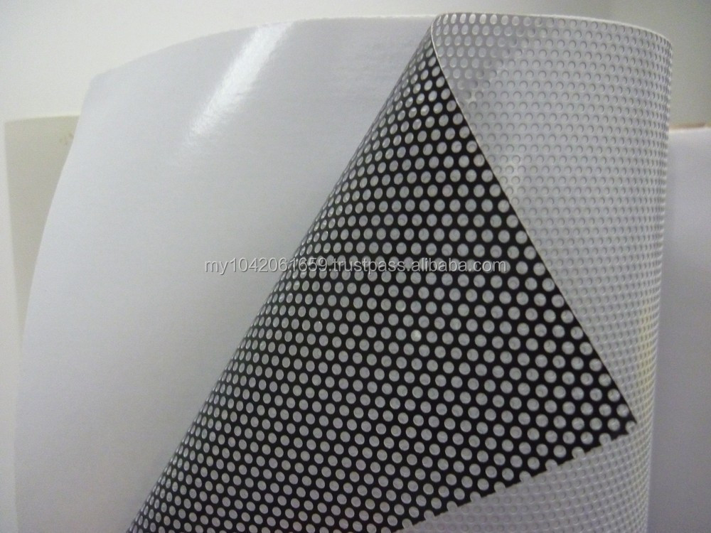 Artco Printing Material See Through One Way Vision Sticker