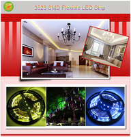 High Quality 3528 SMD Flexible LED Strip Light with CE RoHs