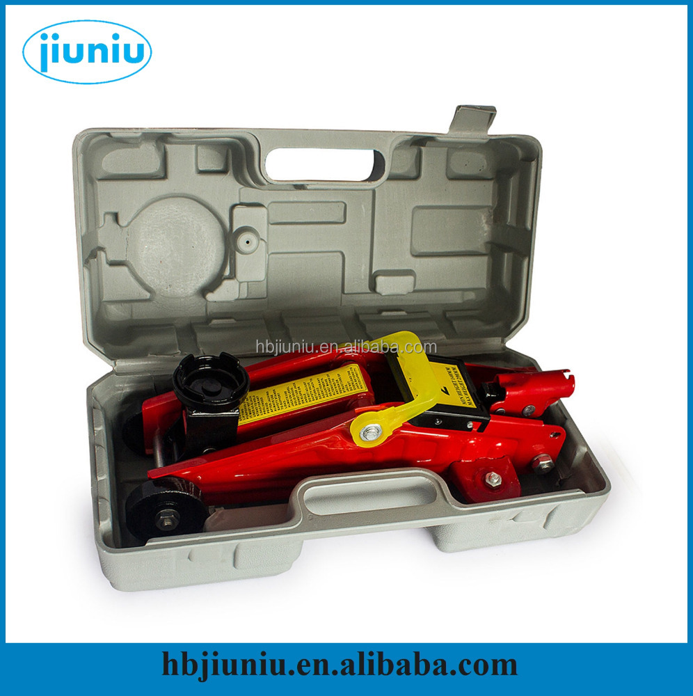 2T/3T hydraulic floor jack, mobile repairing tool kit for car