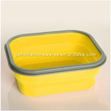 FDA approved air seal food containers made of silicone