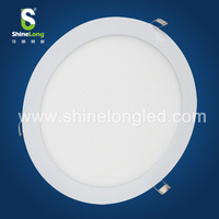 CE ROHS approved dimmable 300mm round panel light led