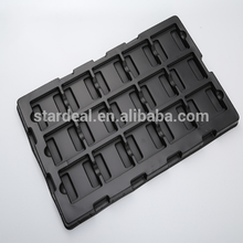 Custom Factory Price Black PS Blister Packaging Tray For Auto Parts