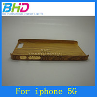 Bamboo wood Printing phone skins and cases For iphone5