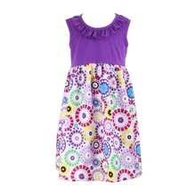 Wholesale Hot selling baby clothes children frocks designs new fashion lovely baby girls dresses