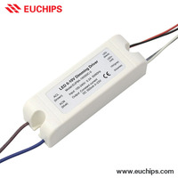 Chinese Supplier 100-240VAC 350mA 1 channel 8W constant currrent dimmable led driver 0-10v