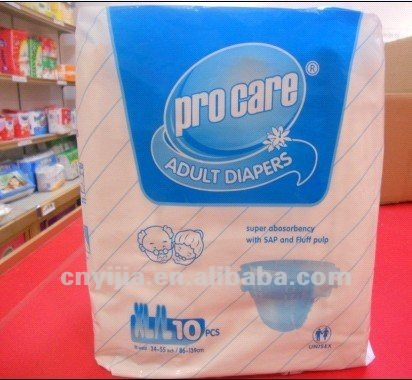 high quality disposable diaper for adults Hospital person using