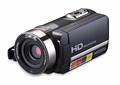 1080p traveler hd video camera with lcd touch panel and IR night shooting