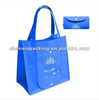 promotional foldable nonwoven bag