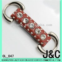 red color jeans buckle