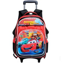 2015 New Design Detachable Trolley School Bags