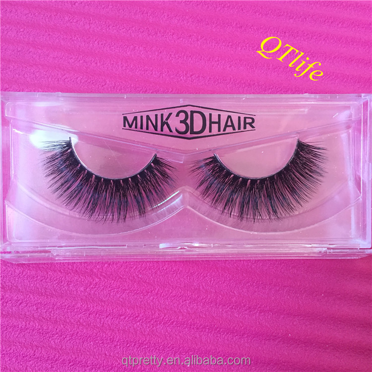 Wholesale invisible band mink eyelashes private label eye lashes extension mink