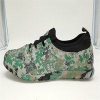 2017 Best cheap camouflage outdoor hiking training sneaker casual running sports shoes