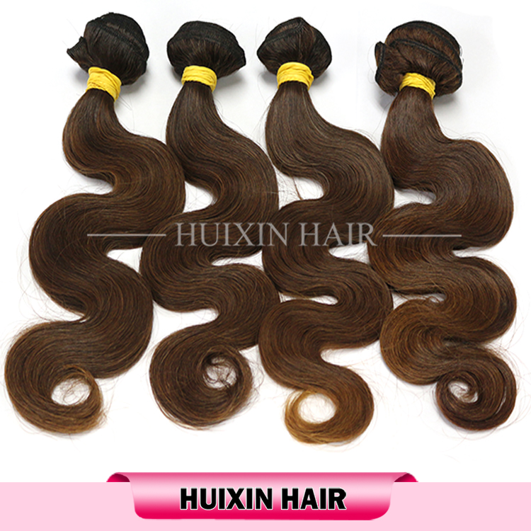 Great quality 8a hair, natural brown European hair no tangle no shedding hair extesnion