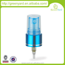 cosmetic plastic nasal spray bottle with pump