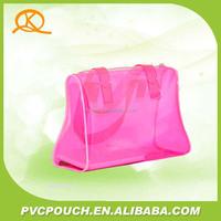 Customized promotional pvc recycle clear plastic beach bag