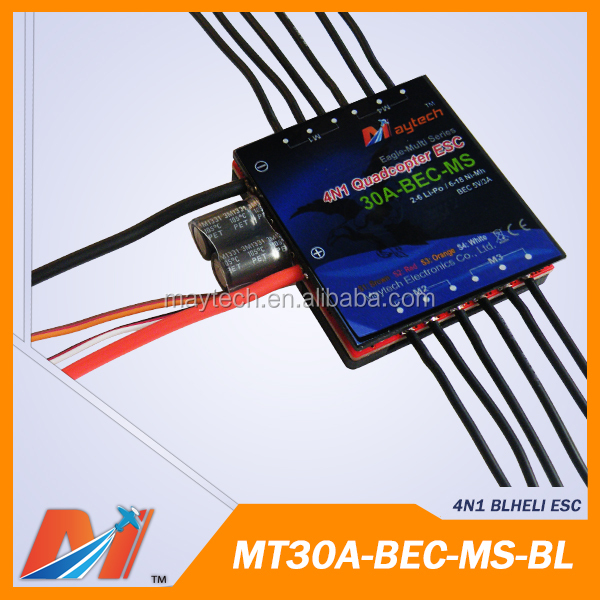 Maytech 30A 4in1 motor controller BLHeli firmware for Drone Plane