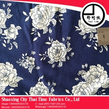 low price high quality indian block tropical print organza fabric