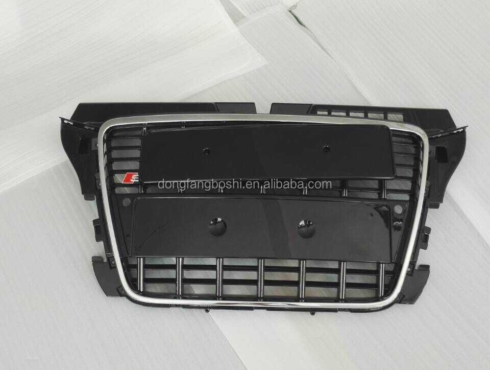 Hot sale 2008-2012 exterior modified car part for Audi 8P A3 to S3 front grille