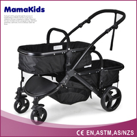 Competitive price twin baby stroller 3 in 1 en1888 approved baby carriage