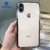 Ultra Hybrid For iPhone X Xs Case Soft TPU Bumper Ge TPE Edge with Football Skin Drop Protection Flexible Backing Cover