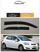 CAR DOOR VISOR RAIN DEFLECTOR FOR TOYOTA AURIS 07-12 USE