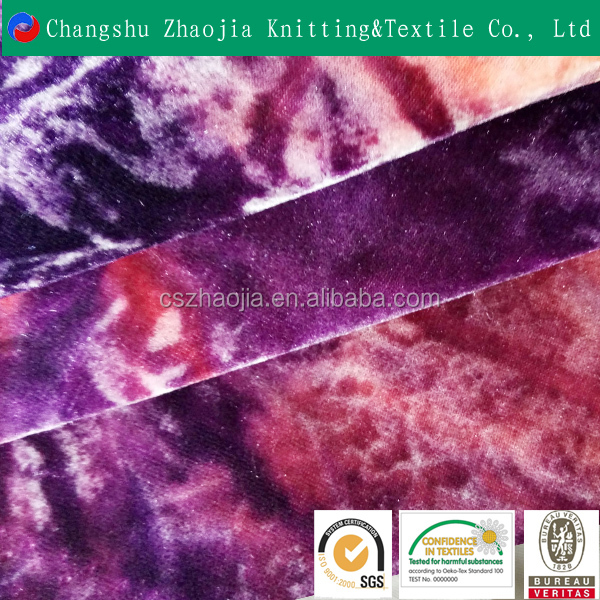 Fashion New Design Pretty polyester Elastic knitted printed car seat fabric for Upholstery