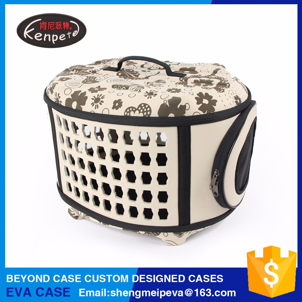 Hot selling folding printing cat bag pet carrier
