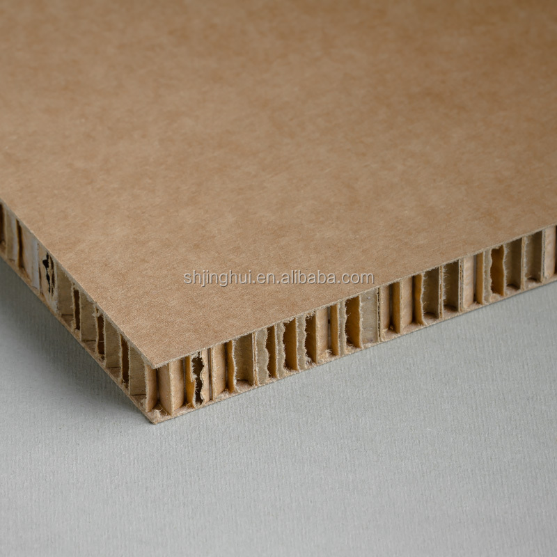 White and Brown Virgin Kraft Papers honeycomb board