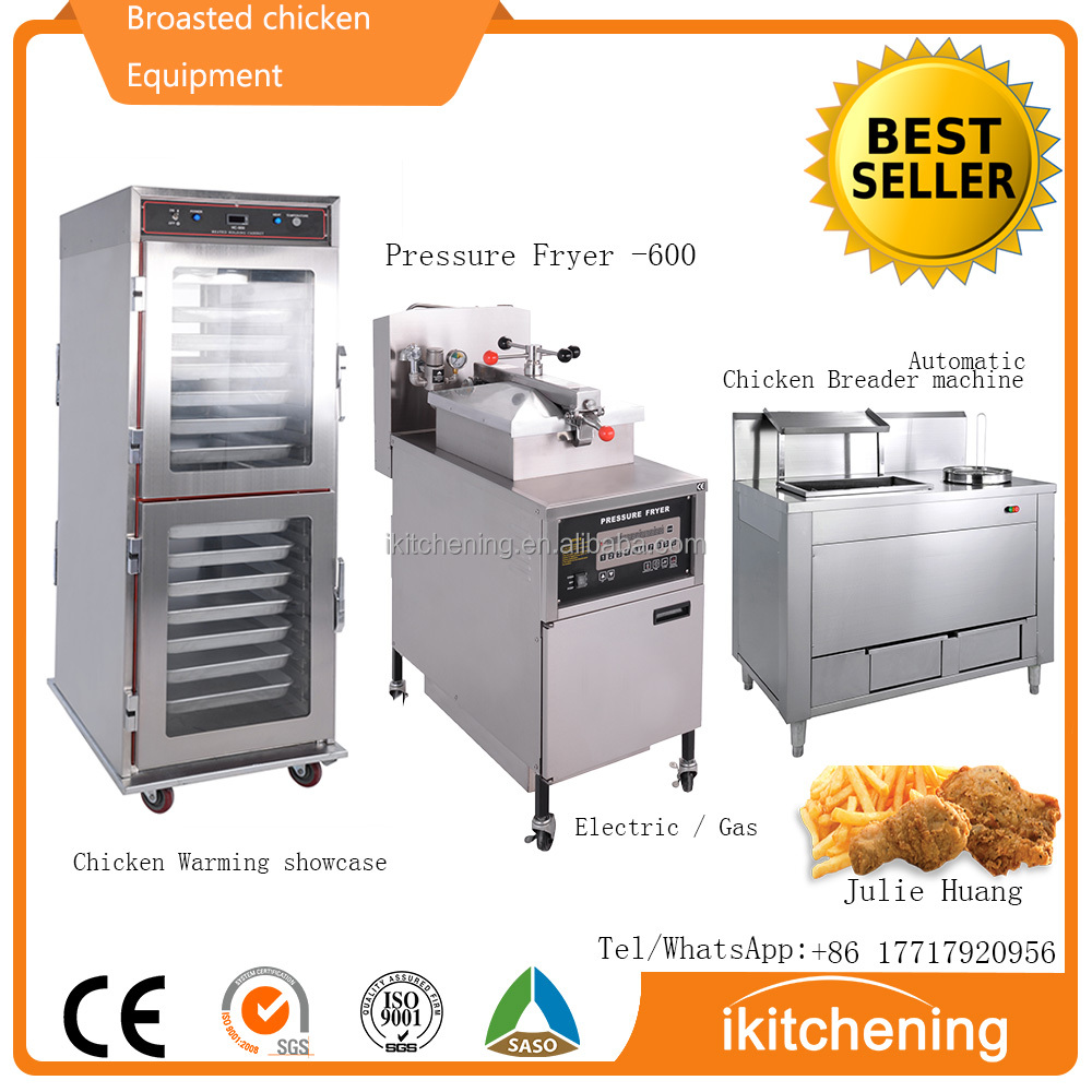 High Quality Broasted Chicken Equipment / Breaded Chicken Coating Machine