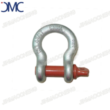 Drop forged shackle price bow type screw pin