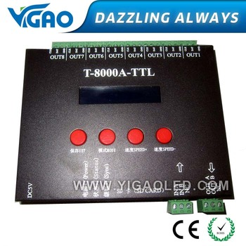 t8000a led controller with sd card