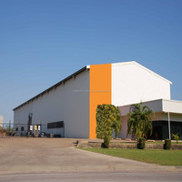 lightweight steel industrial buildings/prefabricated steel building/corrugated steel buildings
