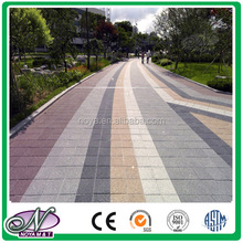 Recycled water permeable paving brick for project