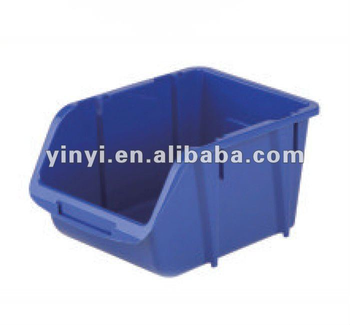 Large Clear Stacking Bin,Plastic PP storage tool bin box (1010240)