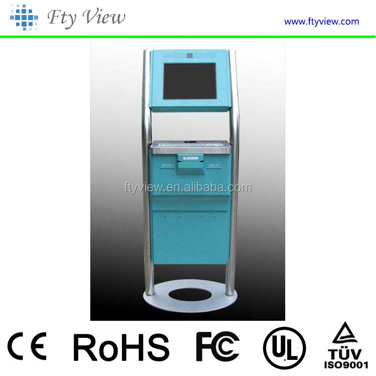 2016 new product photo booth kiosk atm machines